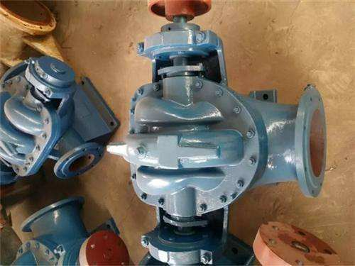 S SH type stainless steel single stage double suction open pump 6