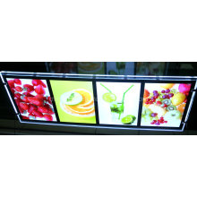 Double Side Crystal Acrylic LED Light Box for Advertising (CDH03-A4PX4-03)