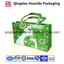 Bolso no tejido que hace compras promocionales del logotipo modificado para requisitos particulares para el supermercado