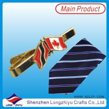 Popular Funny Tie Clip with Flag Design Men Tie Bar Tie Pin (lzy00003)