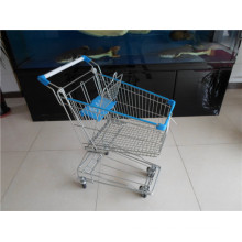 Asiatische Art-Supermarkt-Einkaufslaufkatze
