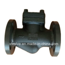 Acero de carbono forjado A105 Conexión embridada, válvula de retención de levante