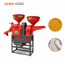 DAWN AGRO Máquina de molienda de maíz con molino de arroz combinado automático