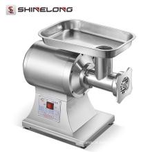Fábrica de processamento de carne de alta eficiência em aço inoxidável picador de carne elétrico automático