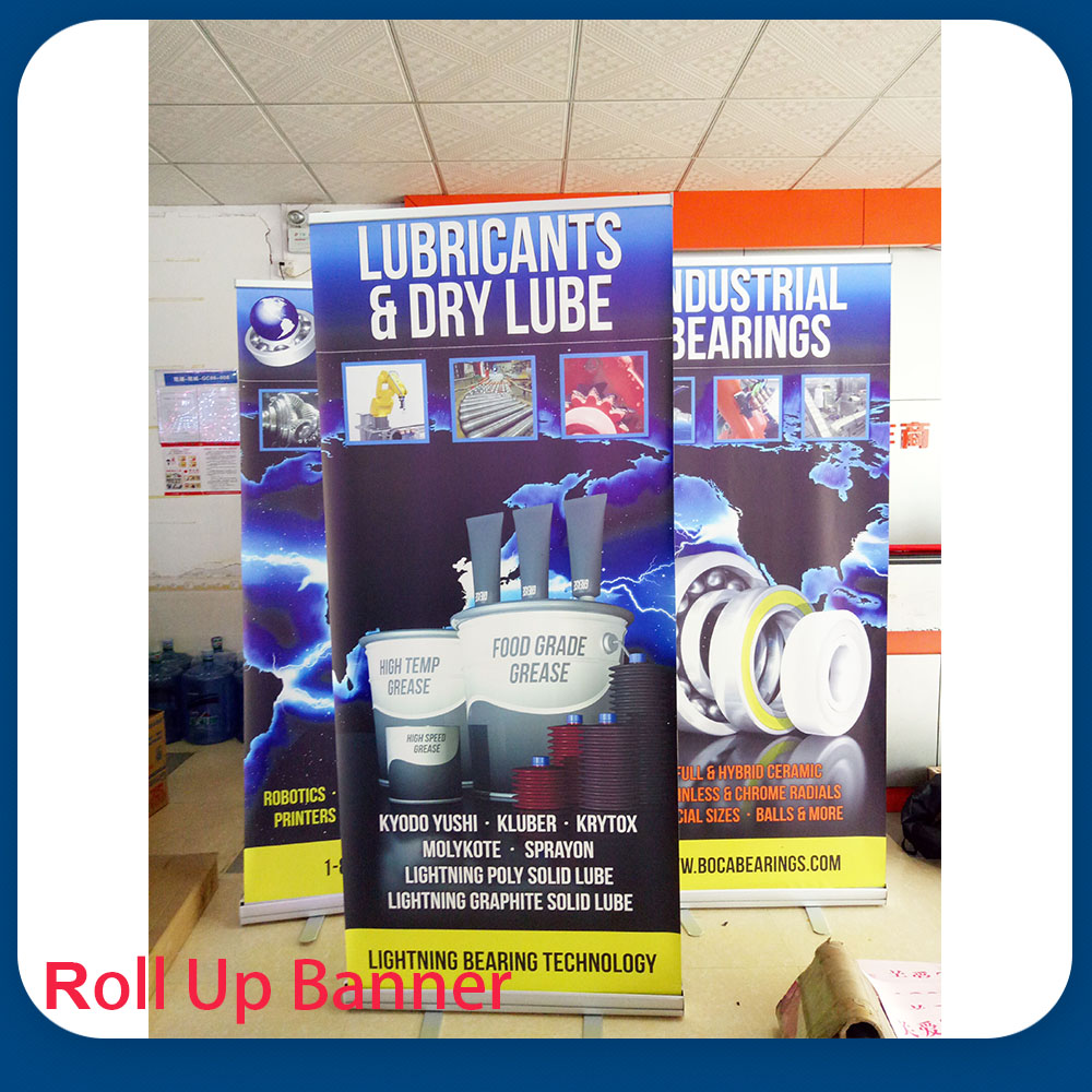 printed roll up banner