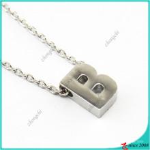 Collar de cadena de enlace de plata de las señoras 26 de las señoras
