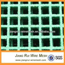 Gritted Oberfläche FRP Fiberglas Gitter (China Fabrik)