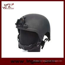 IBH Military Camouflage Helm mit Nvg Mount & Seite Schiene-Action-Version