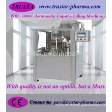 Máquina de enchimento automática de cápsulas njp 2000