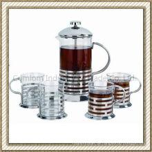 Rostfreier Stahl Kaffeekanne