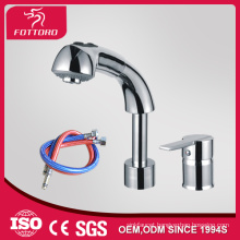 High quality two hole brass bathroom mixer MK24007