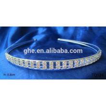 New fashion wholesale rhinestone head hoop crown
