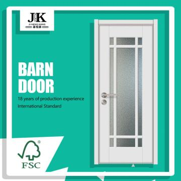 JHK-G33 Commercial French Interior Single Glass Door