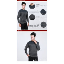 Yak Wool/Cashmere Round Neck Pullover Long Sleeve Sweater/Garment/Clothing/Knitwear