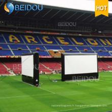 Grands évènements Écrans de projection arrière Écran de film gonflable à l'extérieur