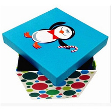 Color Box Printing Gift Bcartoon Paper Box with Lid
