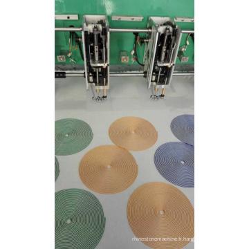 Machine de broderie de Chenille de haute qualité avec Multi têtes
