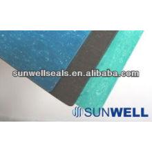 Non Amianto Comprimido Folha com fibra de carbono 150 Graus