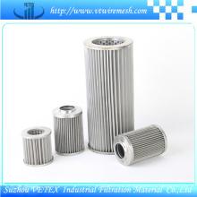 Elemento de filtro SUS 316 Vetex