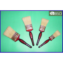 Shsy-2002-Bc-W Red Wooden Handle Black Bristle Paint Brush