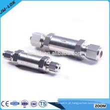 Válvulas de retenção não retornadas de válvula unidirecional de aço inoxidável