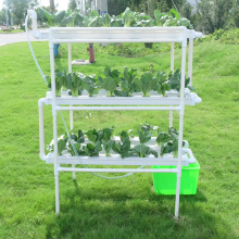PVC Vertical Nft Indoor hydroponic growing equipment