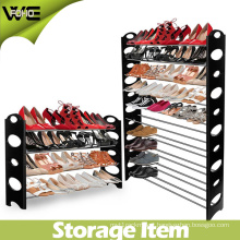 10 Tier 50 Pair Heavy Plastic Waterproof Shoe Storage Rack