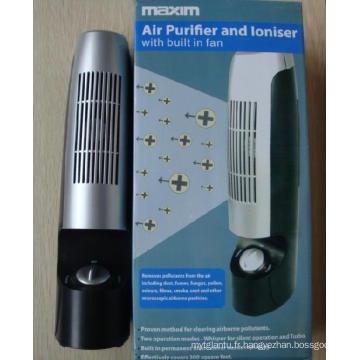 Purificateur d'air et Lonizer avec Bulit dans le ventilateur