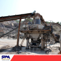 Dry-mixed mortar impact sand-making machine