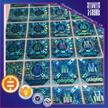 Stiker Label Hologram Laser Anti-Fake
