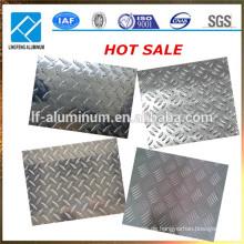 Aluminium karierte Platte und Blechgewicht Legierung 1xxx, 3xxx, 5xxx, 6xxx, 8xxx Serie