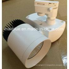 Compact Design 30W COB LED Light Track pour petit espace
