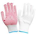 Нейлон перчатки с ПВХ точками Palm (S5101)