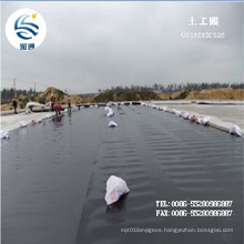 Manufacturer Black 0.3-3.0mm LDPE HDPE Geomembrane Liner PVC Geomembrane