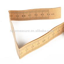 Regla de medición desechable médica de papel de 64 cm