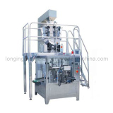Automatic Packaging Line for Nuts with Zipper Bag