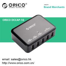 ORICO DCAP-5S Chargeur mural USB 5 ports pour Ipad / Iphone avec Intelliegent IC de recharge