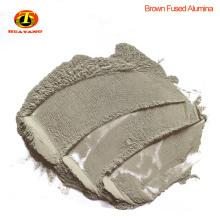 F16 óxido de alúmina fundido marrón para pulir con chorro de arena