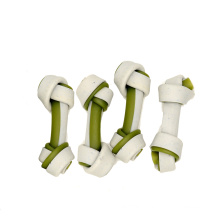Qingdao Petideal Dental Double Color Bones Dog Treats Various Pet Dental Snacks