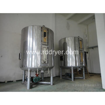 Full cyanuric acid continual plate dryer
