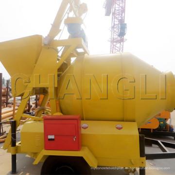 Máquina del mezclador concreto Jzm750 / mini mezclador de cemento / mini mezclador concreto