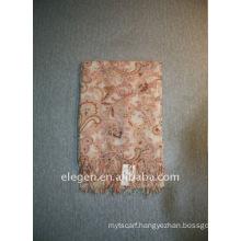 lady 100%F/wool printed scarf