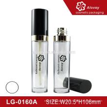 Beaux récipients à tubes à lèvres transparents avec brosse