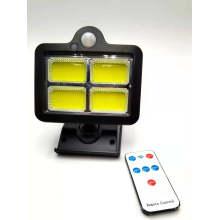 Outdoor 96 LED Solar Wall Light Motion Super Bright Waterproof Sensor Solar Wall Light Remote Control Amazon Hot-Selling Wall Lamp