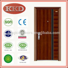 China's Top used in Mexico Commercial Steel Security Door KKD-702 with CE BV SONCAP