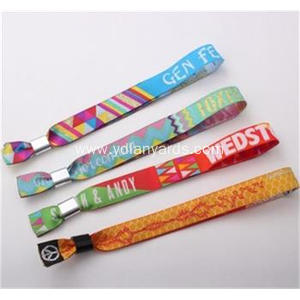 Fashion Design Wristbands Fabric Bracelets