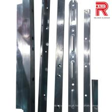 Perfis de extrusão de alumínio / alumínio para perfis de reboque