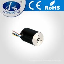 Motor sin cepillo de la CC de 15v 6w con el CE, ROHS, certificación ISO 9001 / motor de la CC JK28BL26