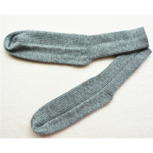 custom mens 100% cashmere socks of high quality