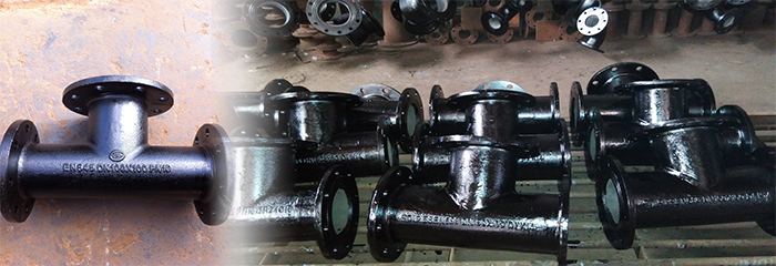 Ductile Iron All Socket Tee